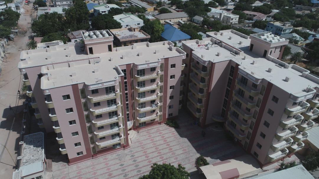 Mashruuc Deegaan/Apartments ah oo aad u qurxoon